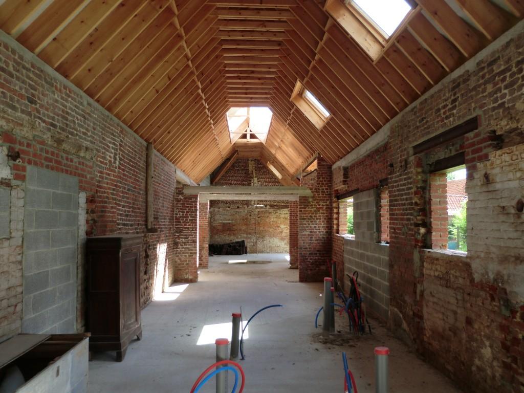 13.20. Atelier permis de construire - Rénovation d'une grange à Bachy11.1