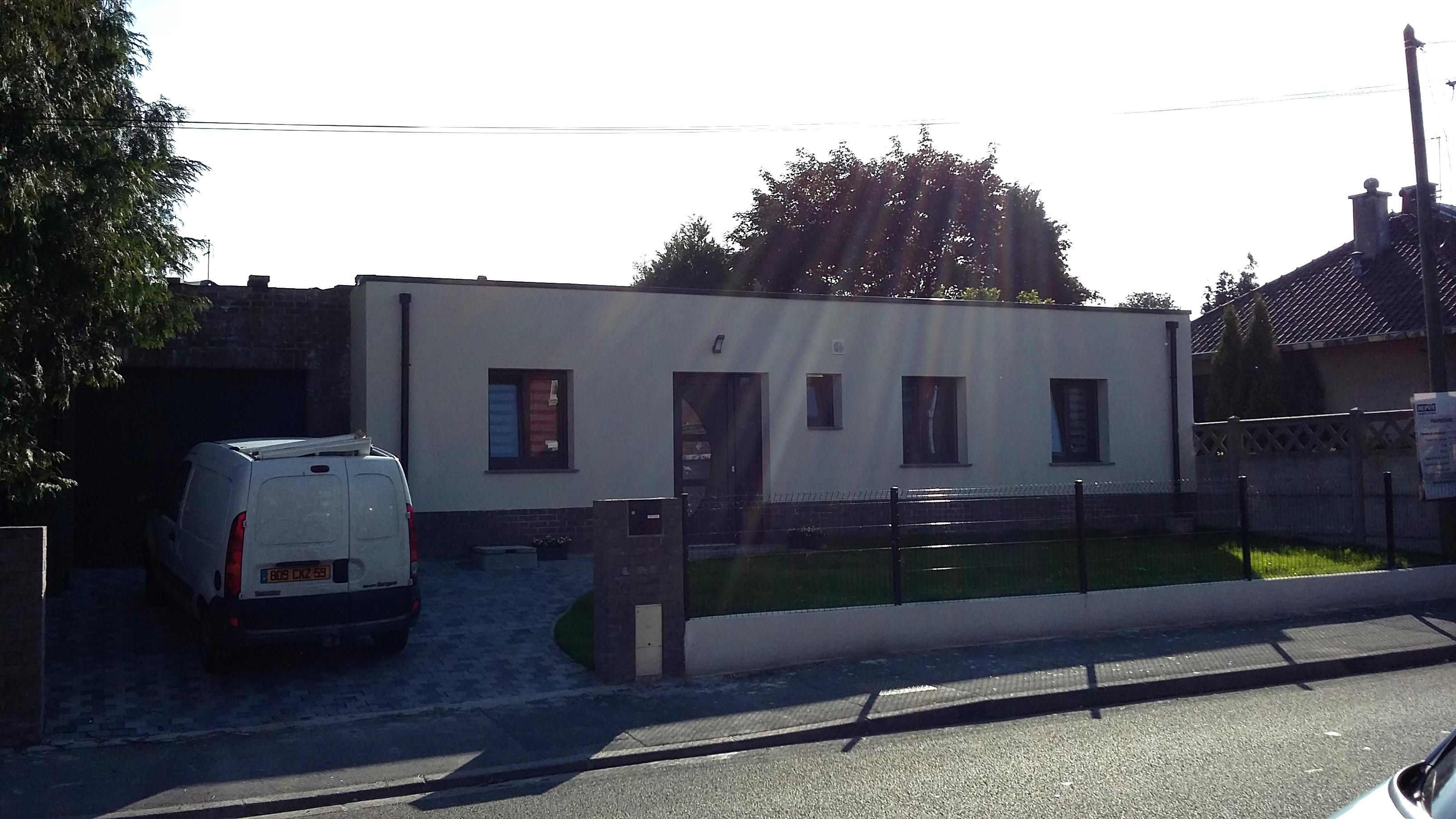 14.01 Construction maison Lys lez Lannoy - Atelier permis de construire10.2