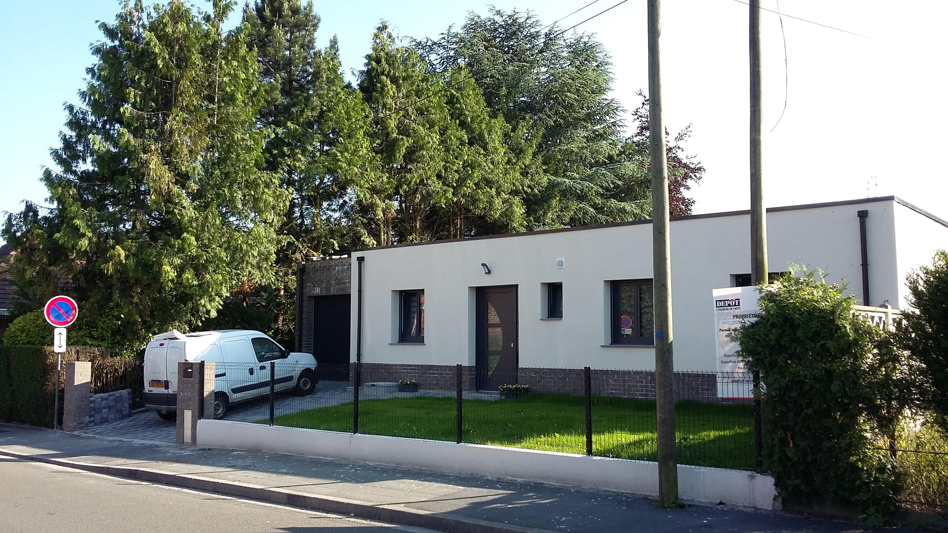 14.01 Construction maison Lys lez Lannoy - Atelier permis de construire10.3