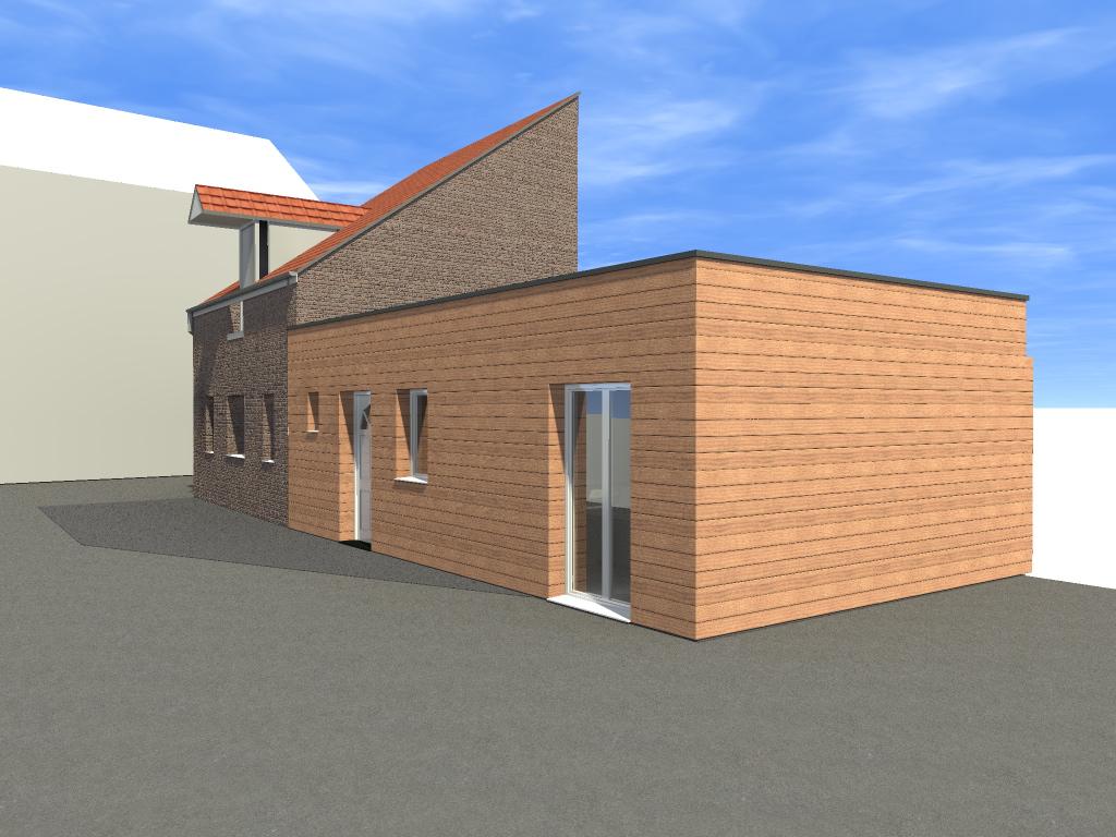 14.12 Permis de construire extension grange Orchies10