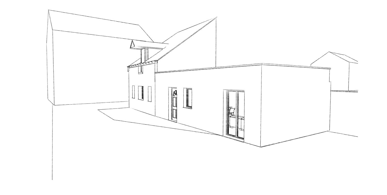 14.12 Permis de construire extension grange Orchies8