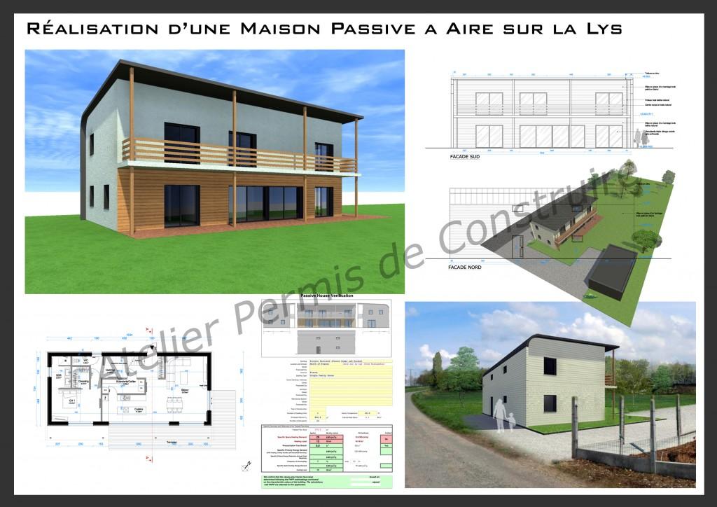 12.07. Atelier permis de construire Maison Passive Aire sur la Lys