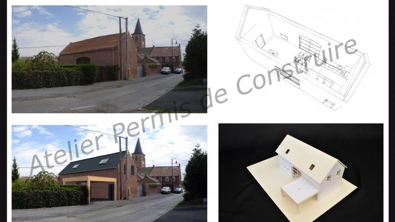 Grange page 2 atelier permis de construire for Transformation grange en habitation permis de construire