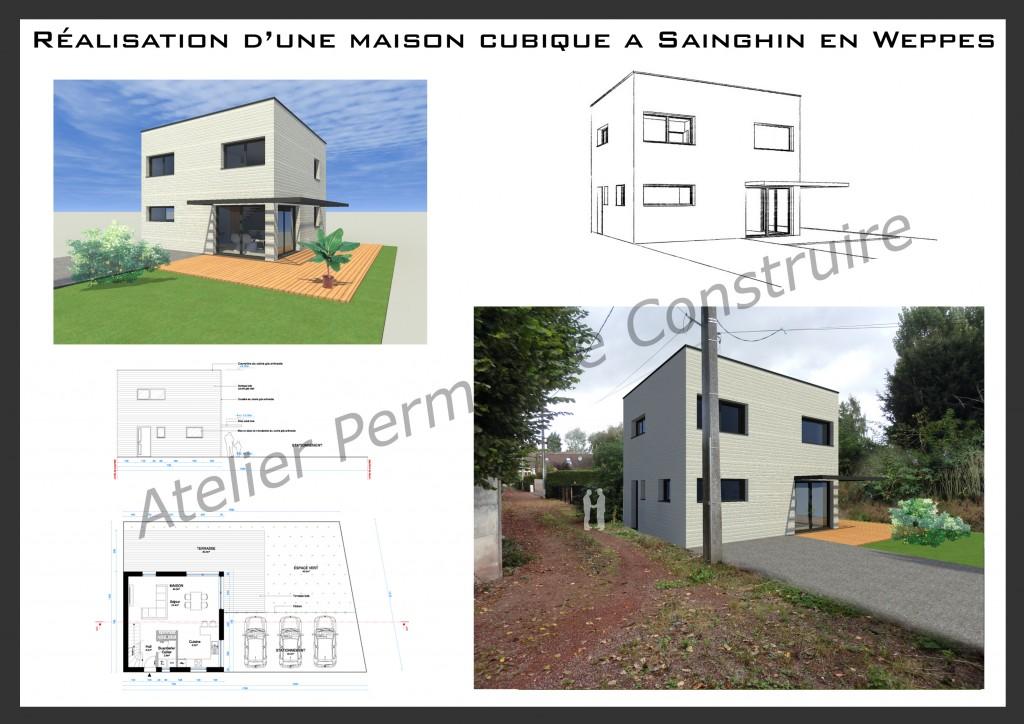 12.20. Atelier permis de construire Maison GG Sainghin en Weppes