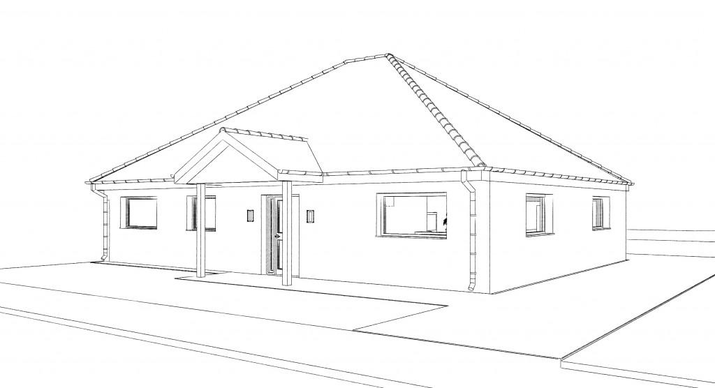 12.26. Atelier permis de construire Maison Plein Pied Wingles1