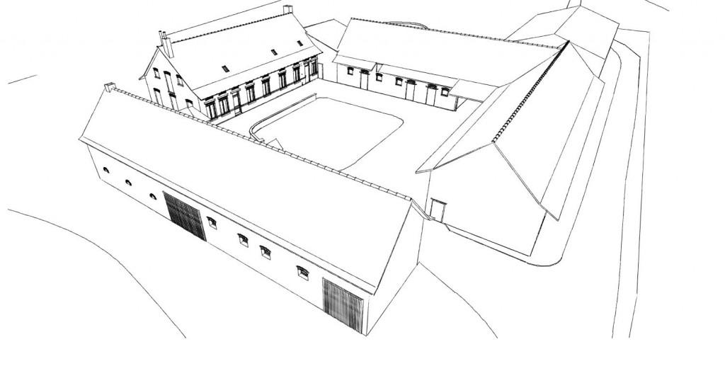 13.06. Atelier permis de construire - Transformation d'un grange en habitation à Steenwerck1