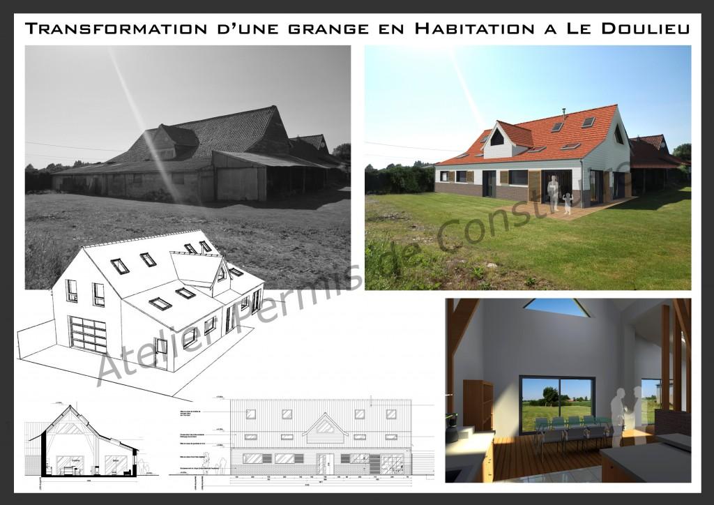 13.17. Atelier permis de construire - Transformation d'une grange en habitation