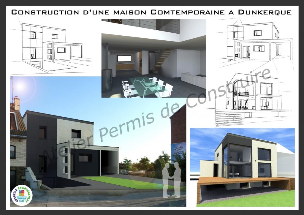 13.19. Atelier permis de construire - Construction moderne à Dunkerque
