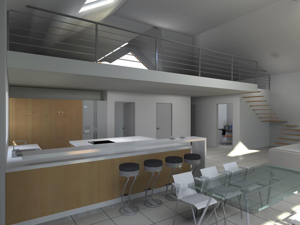 13.23. Atelier permis de construire - Extension maison Lecelles5