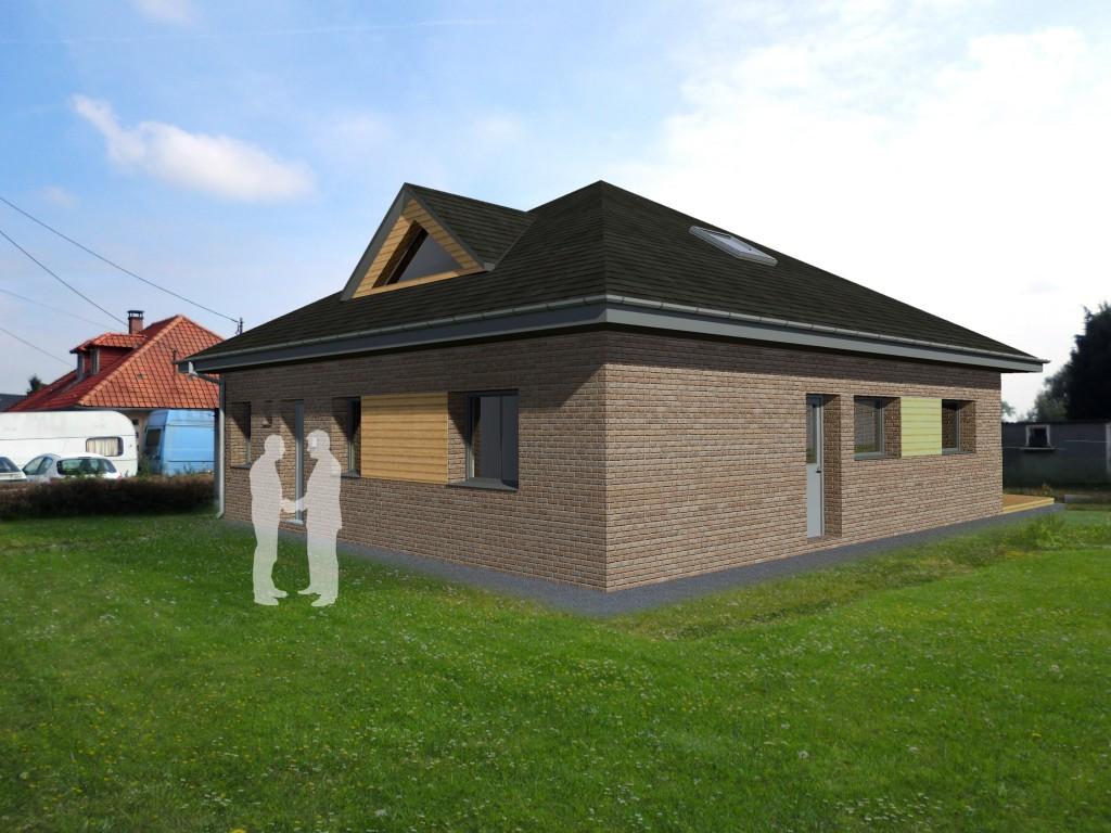 13.23. Atelier permis de construire - Extension maison Lecelles7