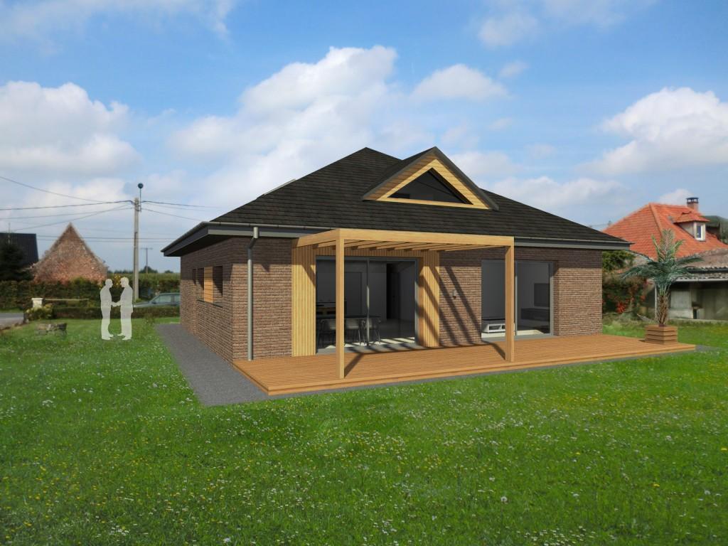 13.23. Atelier permis de construire - Extension maison Lecelles9