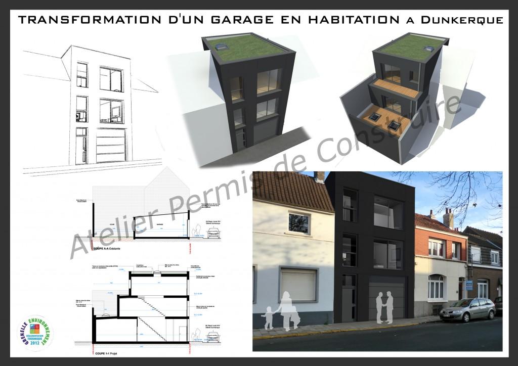 13.28. Atelier permis de construire - Construction d'une maison individuelle à Dunkerque