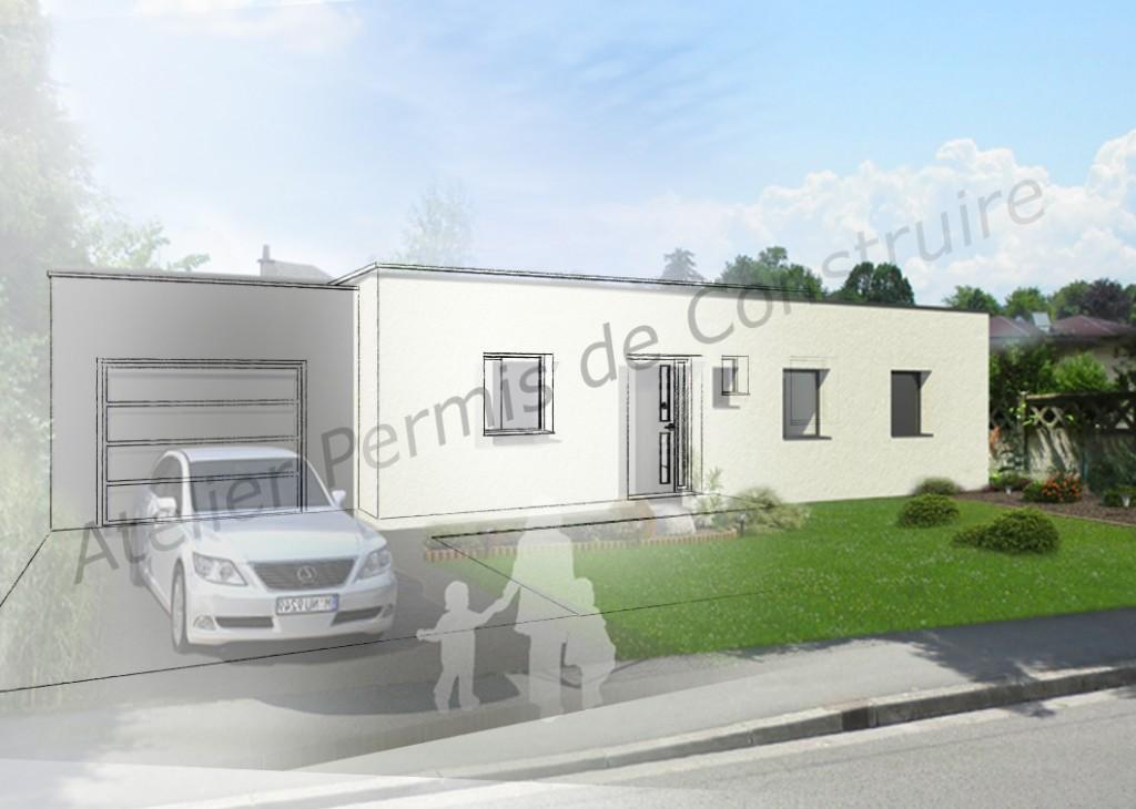 14.01 Construction maison Lys lez Lannoy - Atelier permis de construire2