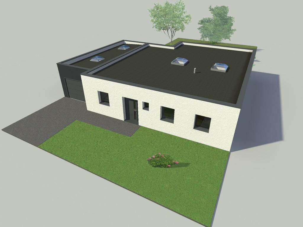 14.01 Construction maison Lys lez Lannoy - Atelier permis de construire4