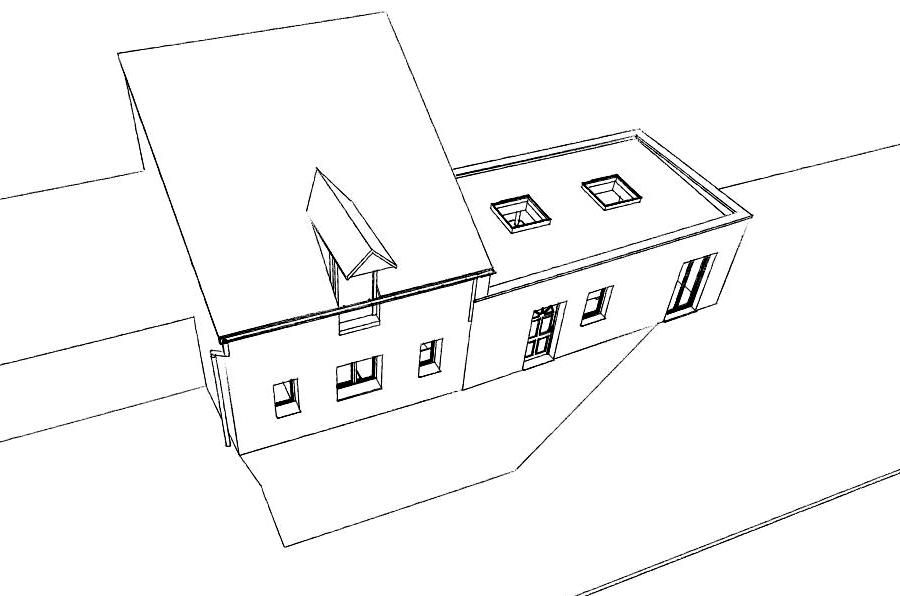 14.12 Permis de construire extension grange Orchies2