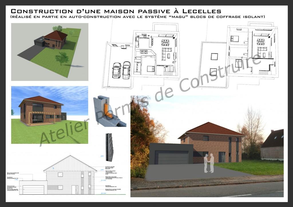15.01 projet permis de construire nord Lecelles1