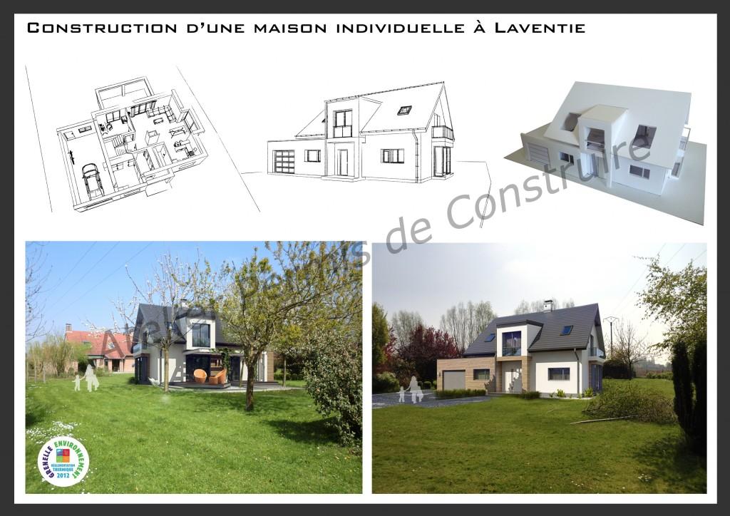 15.09 Construction maison nord - projet permis de construire Laventie