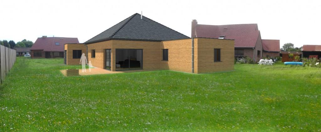 17. Atelier permis de construire Maison Plein Pied Sainghin en Weppes