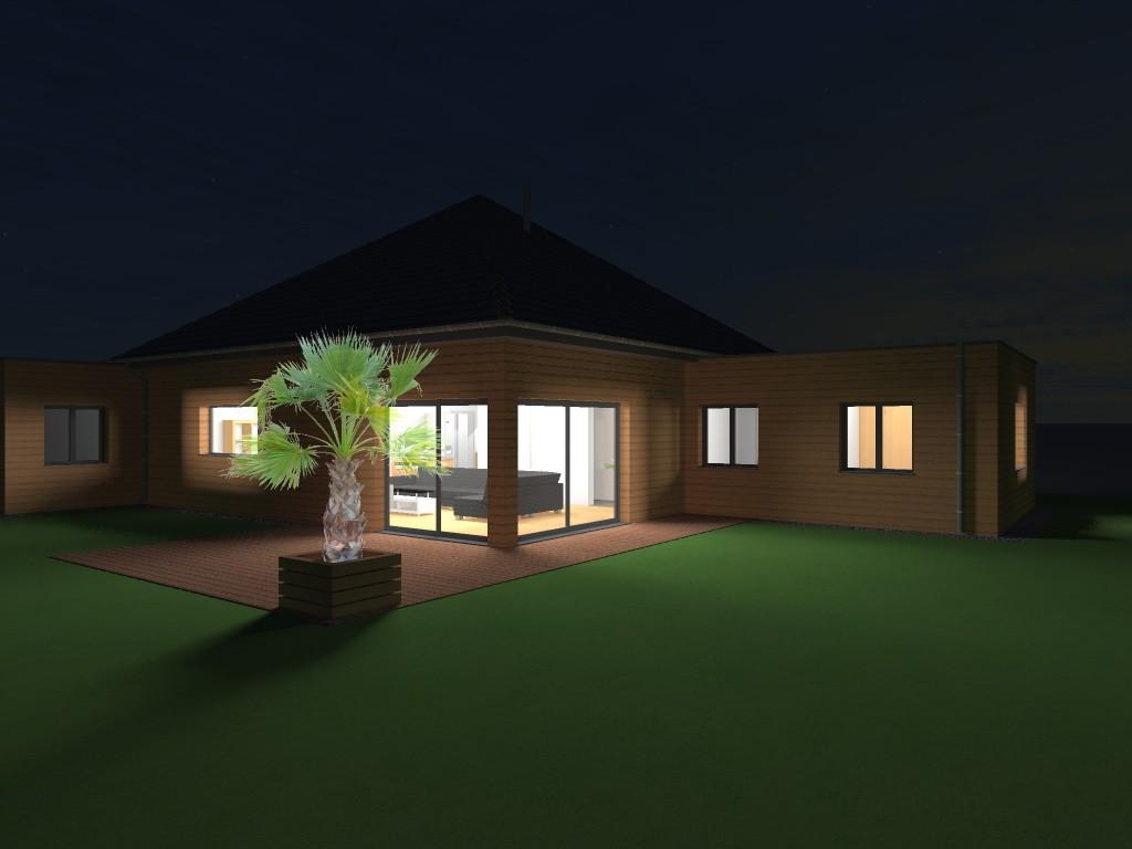 17.2 Atelier permis de construire Maison Plein Pied Sainghin en Weppes