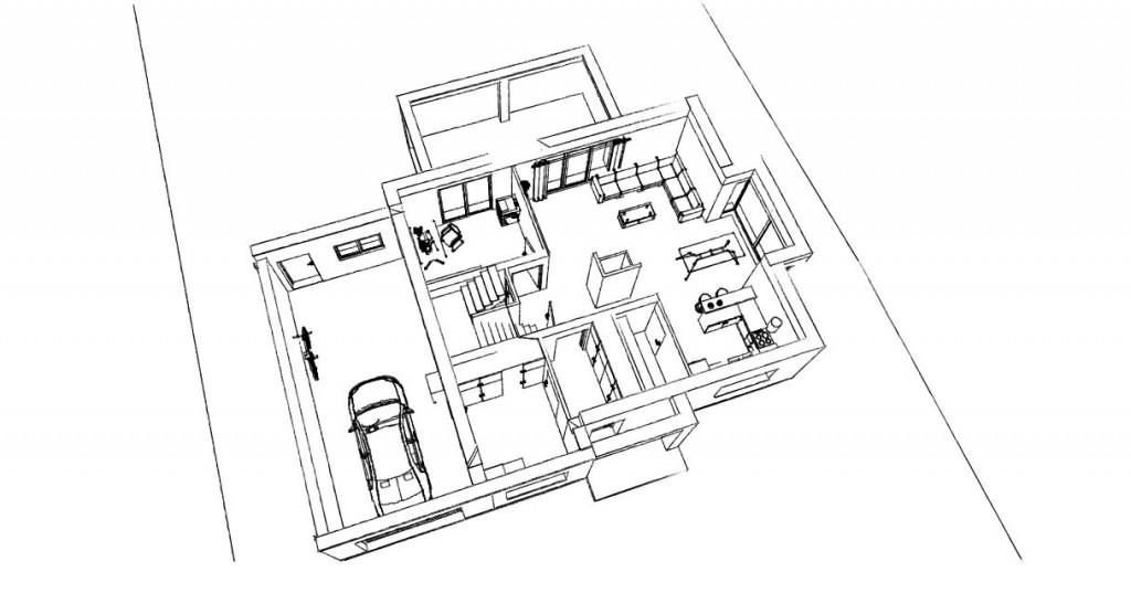 21. Atelier permis de construire Maison Calonne sur la Lys 1.2