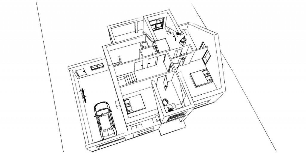 21. Atelier permis de construire Maison Calonne sur la Lys 1.3