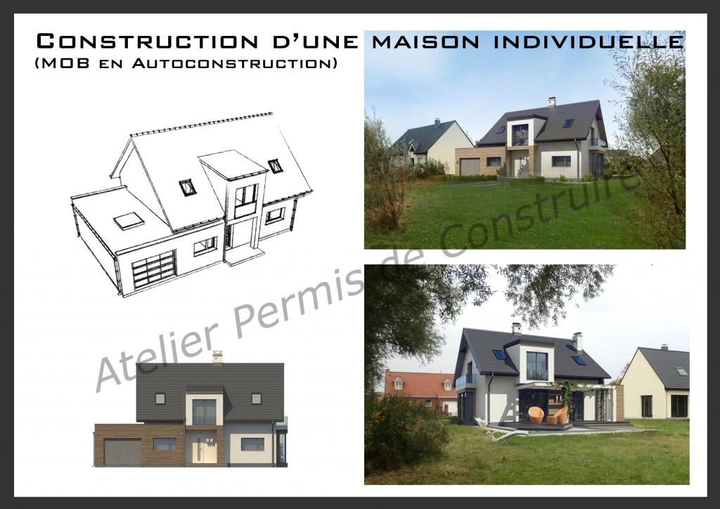 21. Atelier permis de construire Maison Calonne sur la Lys