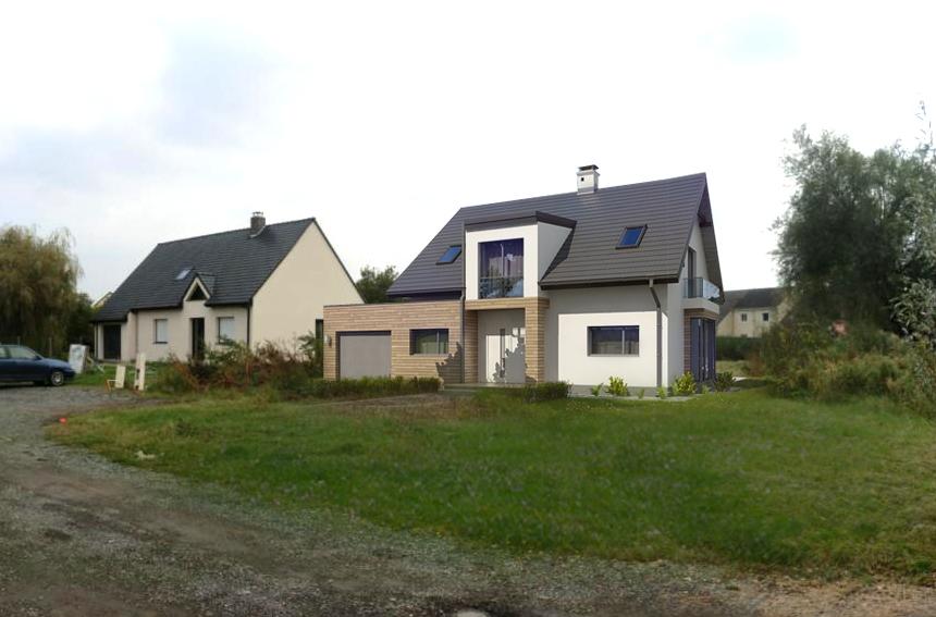 21. Atelier permis de construire Maison Calonne sur la Lys 2