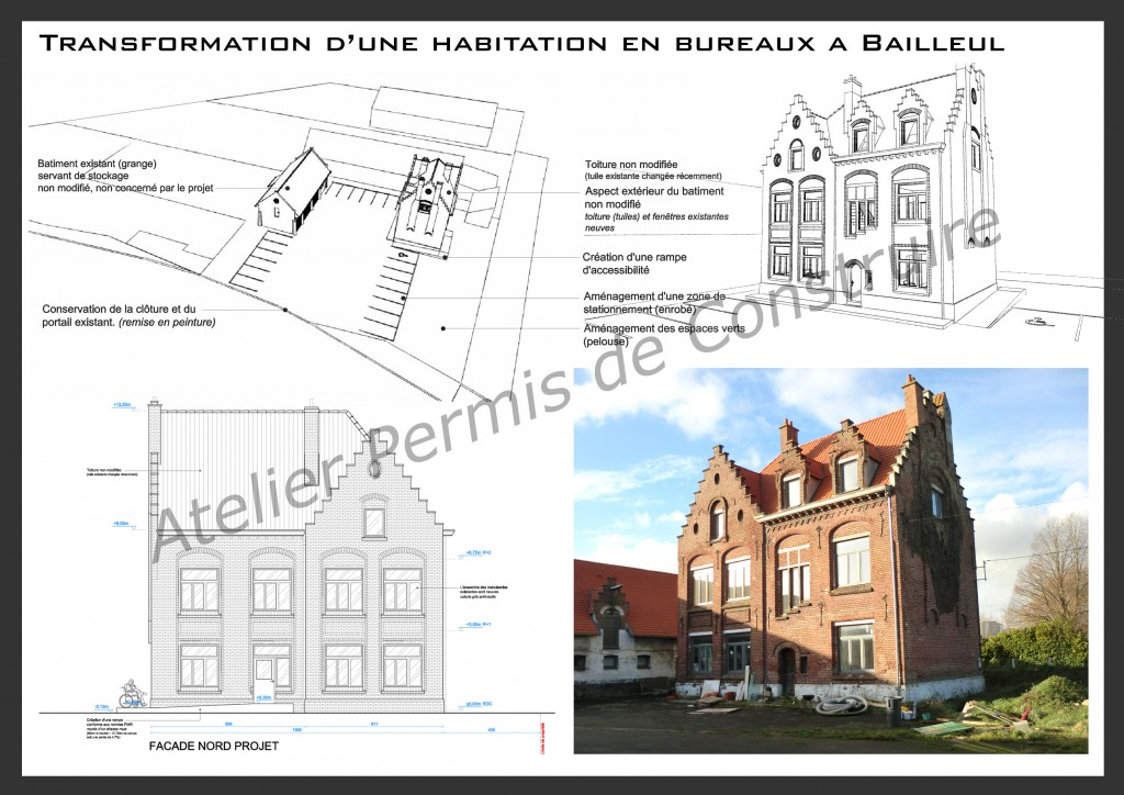 15.02 projet permis de construire nord Bailleul
