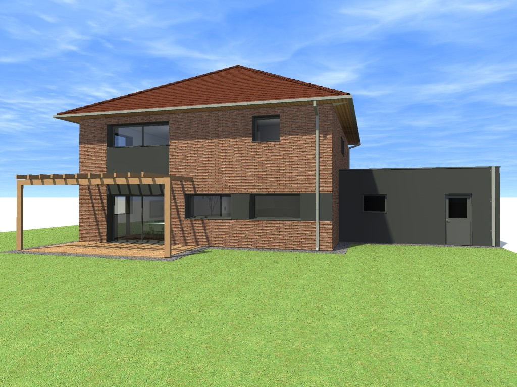 15.01 projet permis de construire nord Lecelles10