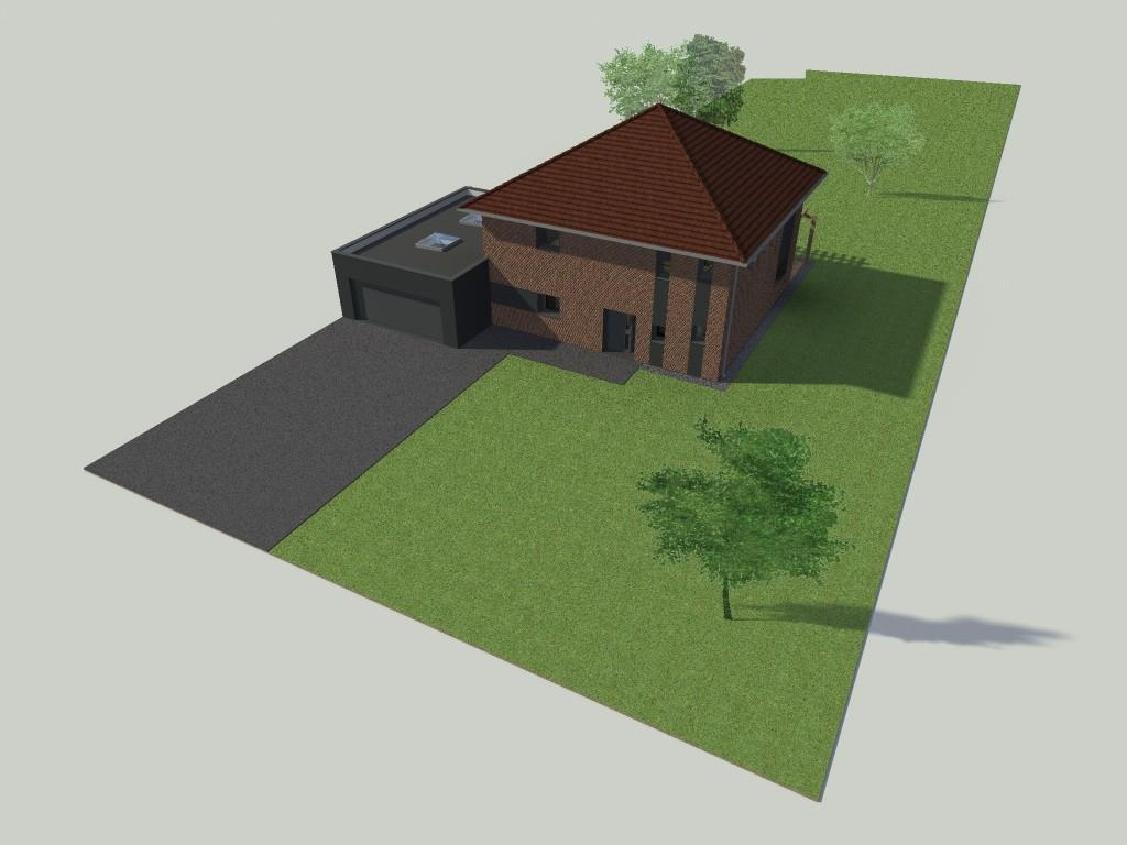 15.01 projet permis de construire nord Lecelles3