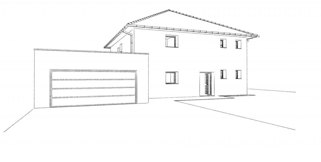15.01 projet permis de construire nord Lecelles6