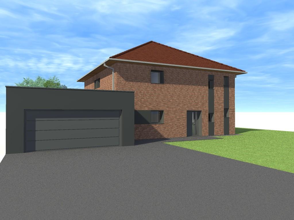15.01 projet permis de construire nord Lecelles7
