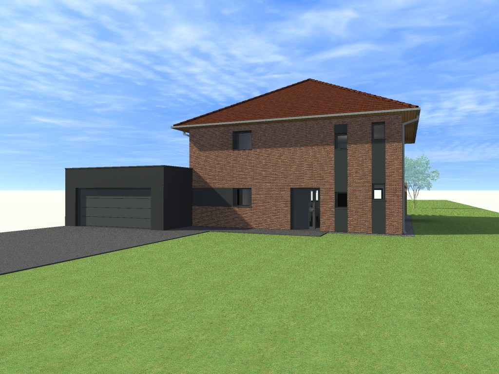 15.01 projet permis de construire nord Lecelles8