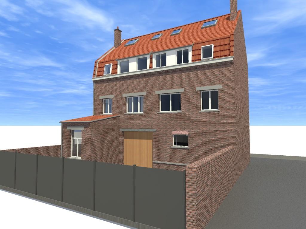 15.04 projet permis de construire nord La Chapelle d'Armentières10