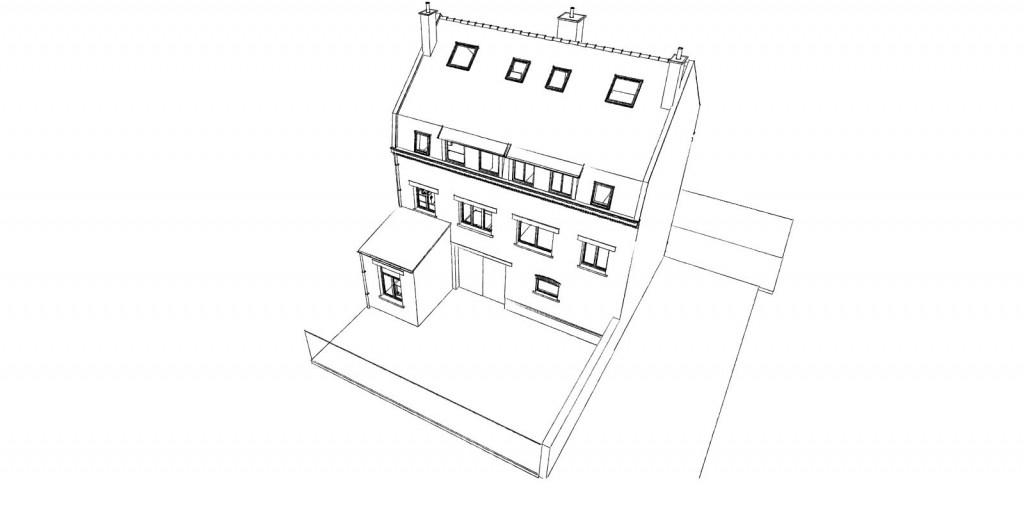 15.04 projet permis de construire nord La Chapelle d'Armentières2