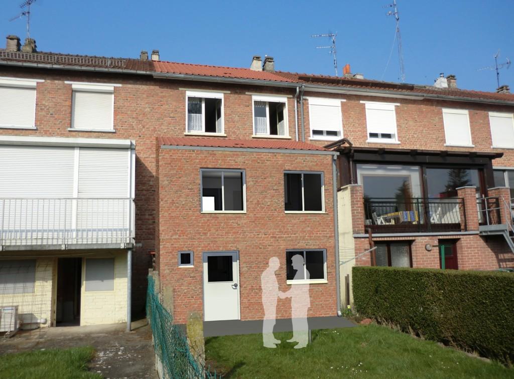 15.13 extension maison année 50 Nord Armentières 8
