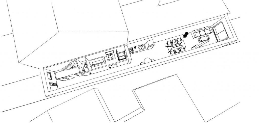 14.08 Extension maison étroite Dunkerque - Atelier permis de construire1.1