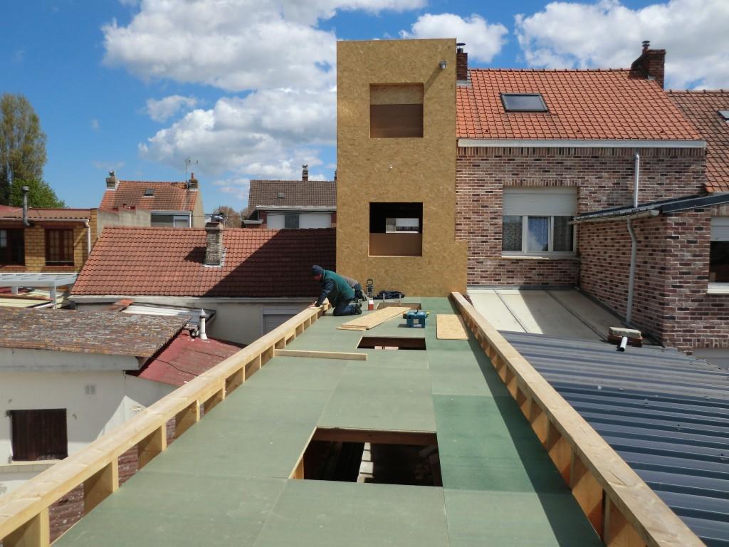 14.08 Extension maison étroite Dunkerque - Atelier permis de construire14