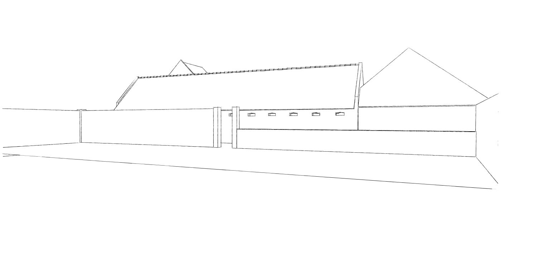 15.12 rénovation d'une grange Nord Permis de construire Fline-lez-raches12