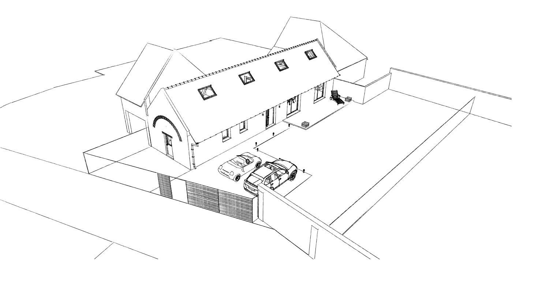 15.12 rénovation d'une grange Nord Permis de construire Fline-lez-raches2