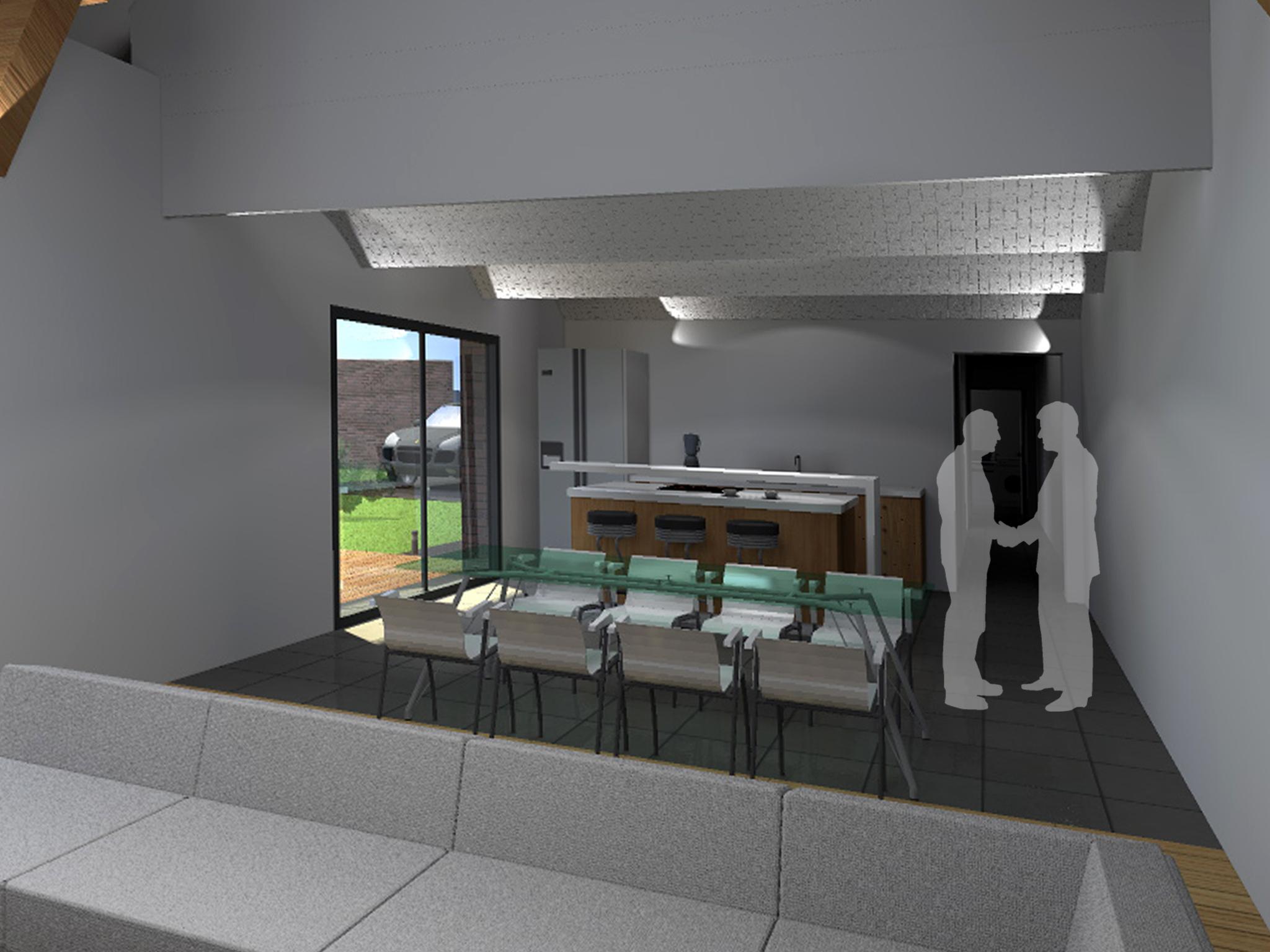 15.12 rénovation d'une grange Nord Permis de construire Fline-lez-raches20
