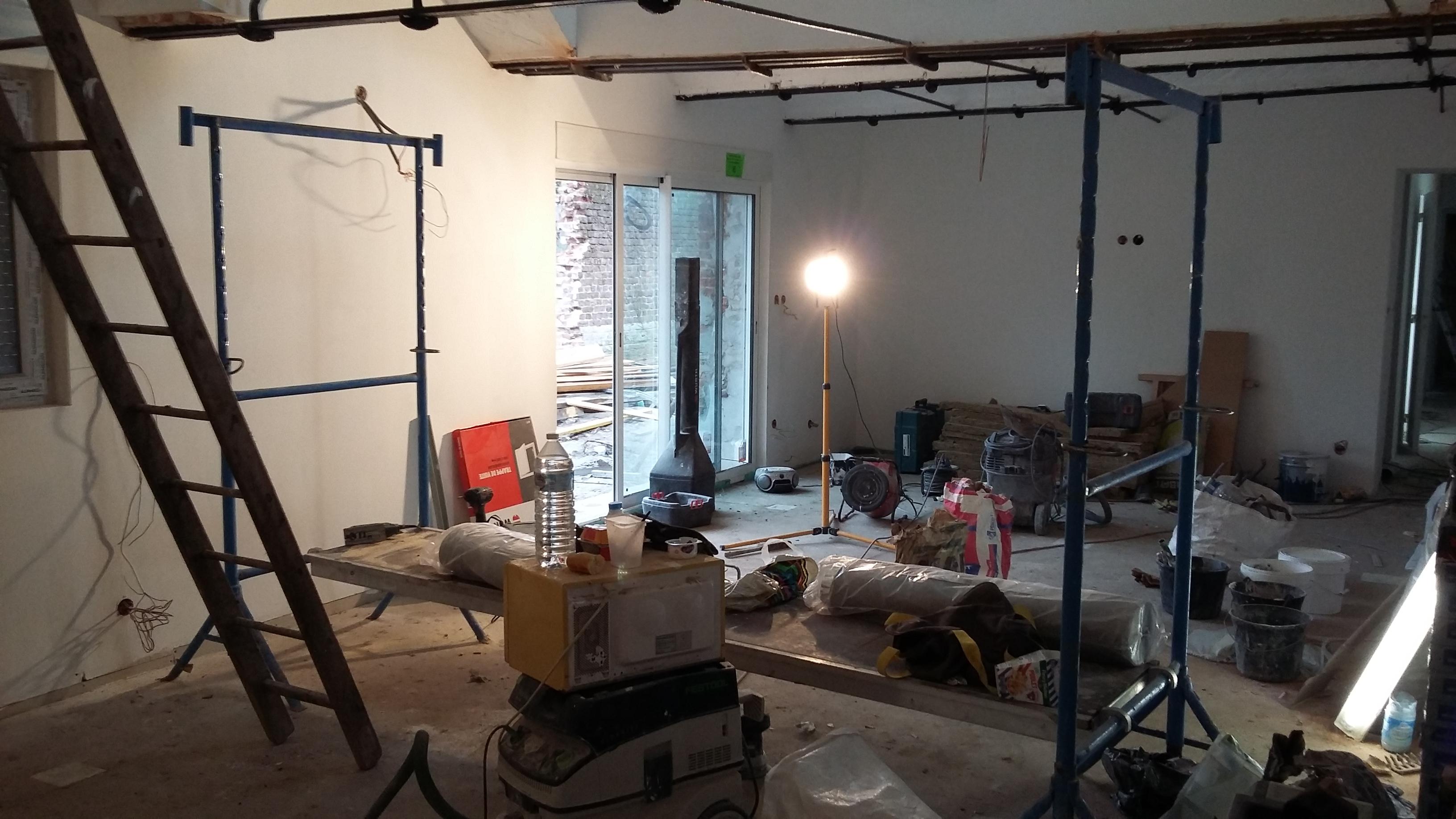 15.12 rénovation d'une grange Nord Permis de construire Fline-lez-raches21