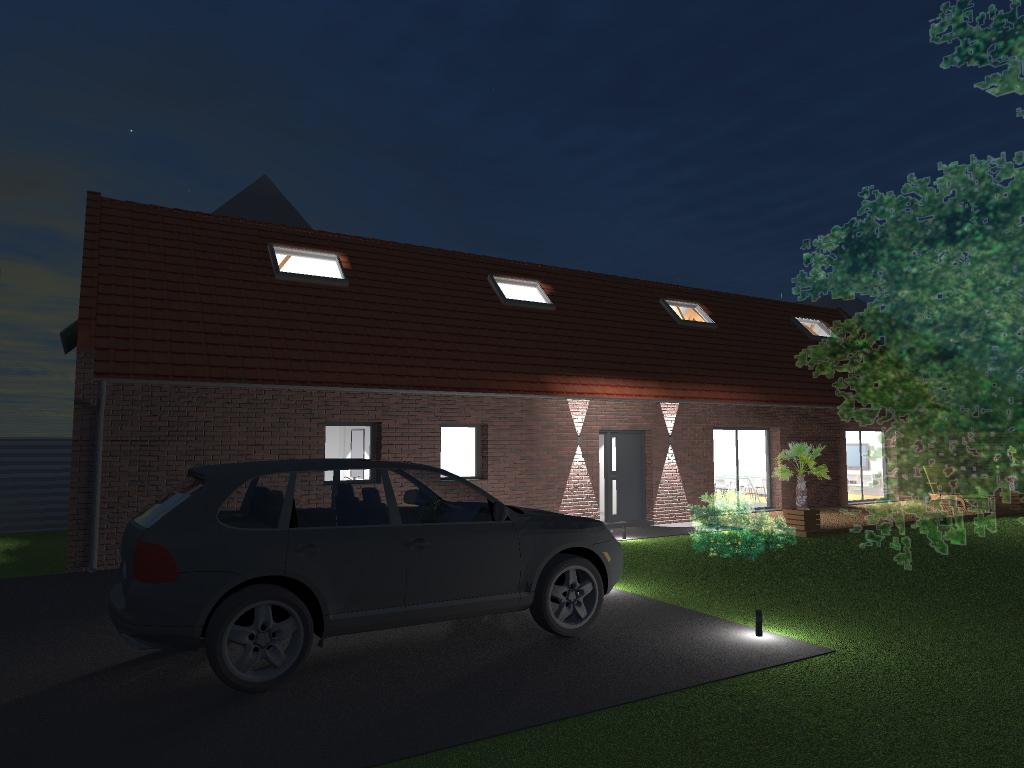 15.12 rénovation d'une grange Nord Permis de construire Fline-lez-raches8.1