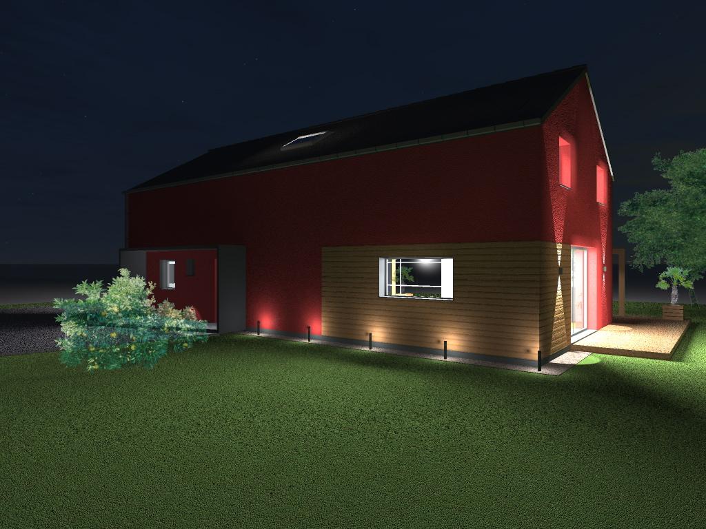 15.08 Atelier Permis de construire construction maison Loft La Gorgue10.1