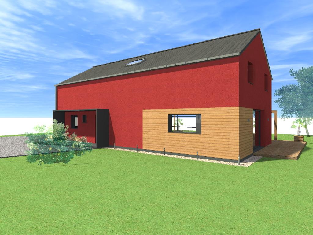 15.08 Atelier Permis de construire construction maison Loft La Gorgue10