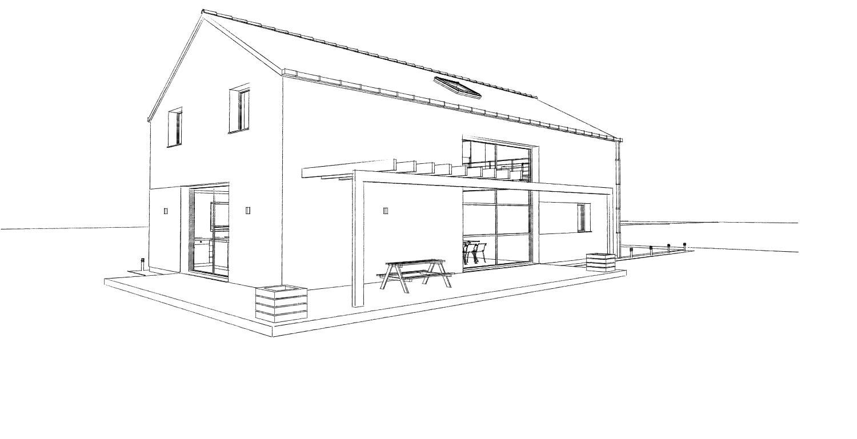 15.08 Atelier Permis de construire construction maison Loft La Gorgue11