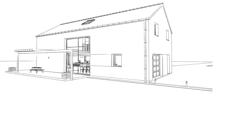 15.08 Atelier Permis de construire construction maison Loft La Gorgue13