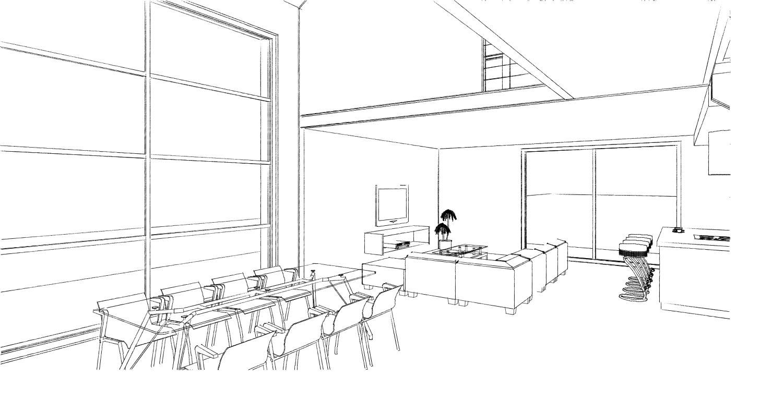 15.08 Atelier Permis de construire construction maison Loft La Gorgue15