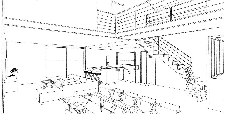 15.08 Atelier Permis de construire construction maison Loft La Gorgue17