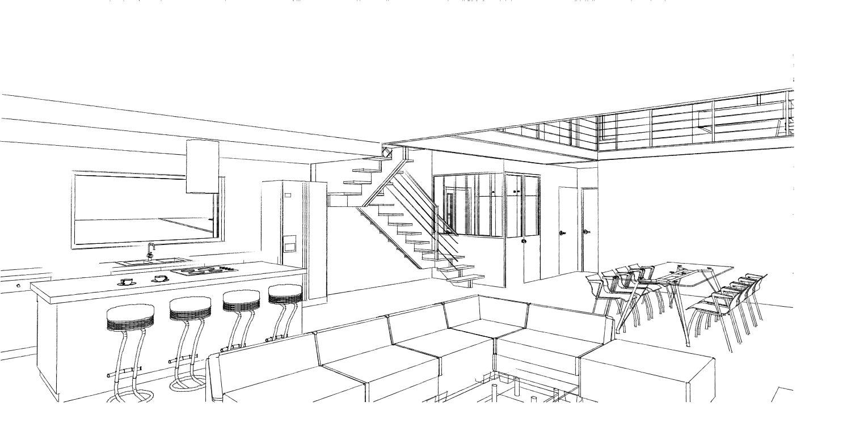 15.08 Atelier Permis de construire construction maison Loft La Gorgue19